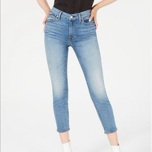 7FAM | Kimmie Cropped Lightwash Skinny Jeans